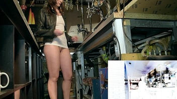 Jeny Smith naked barmaid chastise