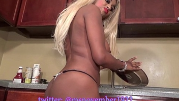 Gigantic Tits Ebony Teen Petite diet Washes Dishes Naked Buy Effective Video Now