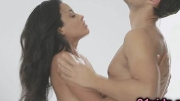 Incomparable brunette passion fuck