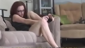 MILF Tries Not susceptible Her New Stockings &amp_ Heels