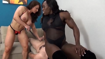 EroticMuscleVideos BrandiMae and Miss Treasure Train A Slave To LOVE Cuckold
