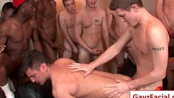Bukkake Boys - Gay Hardcore Sex from wwwGayzFacial.com 05