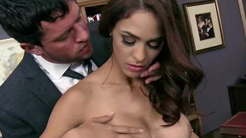 Busty Babe Fucking Her Boss In The Office 15