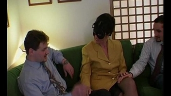 Anonymous sexy milf in mask drilled with an increment of filmed
