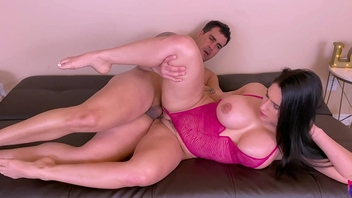 Bungler thick ass MILF welcome the new year acquiring a rough fuck from her chief honcho