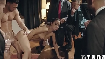 Rowdy Businessman Taunt And Humiliate Escort Alina Lopez By means of Public Fucking