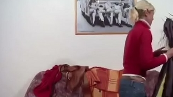 German Mom and Dad Fuck Hard When Home Alone