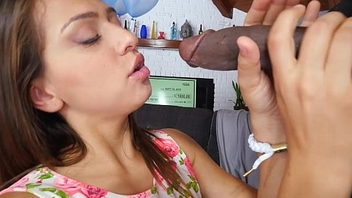 BANGBROS - This Flannel won'_t fit in her mouth