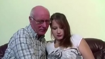 German 18yr old Teeny Jolly along to Fuck by old Grandad